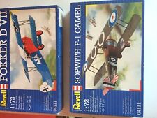 Revell  WWI Fighter Sopwith f-1 Camel  1:72 Scale BNIB