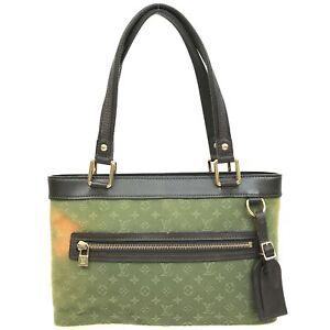 100% authentic Louis Vuitton monogram mini Lucille green M92682 [Used] {04-0310}