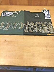 Jack & Jones Boys Camo T shirt (2 colours) ages 9- 14 only