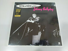 "Johnny Hallyday Tete a tete Avec - Limited Edition LP Vinilo 12"" NUEVO"
