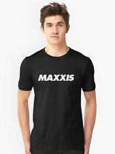 New MAXXIS BIG HORN TYRE OFFROAD Black T-Shirt. Orange Ready. rb3