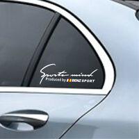 1pc sports mind car sticker auto hood decal for Nissan LIVINA TEANA TIIDA MURANO