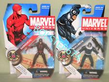 """DAREDEVIL Dark Variant #008 & BULLSEYE #010 Marvel Universe 3.75"""" Action Figure"""
