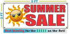 SUMMER SALE Banner Sign NEW XXL Size Best Quality for the $$$$ w/ Sun