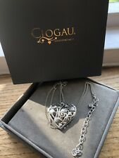 Clogau Silver , Rose Gold Large Queen Of Fairies Pendant