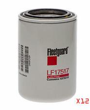 (12) ENGINE OIL FILTERS FOR NISSAN TITAN CUMMINS DIESEL 5.0 LF17517 CASE PACK