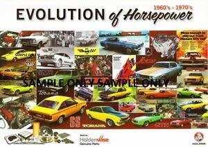 HOLDEN MONARO TORANA COMMODORE HSV HDT EVOLUTION OF HORSE POWER TRIPLE PACK