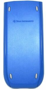 Slide Cover For Texas Instruments Ti 84 Plus Silver Edition Blue Very Good