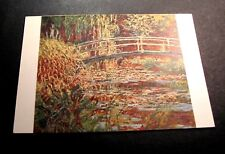 Old Postcards Claude Monet The Basin with nymphaeas:harmony in Pink  PA3
