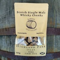 HIGHLAND PARK 1996 Single Malt Whisky Barrel Chunks Home Brew Spirits Flavour