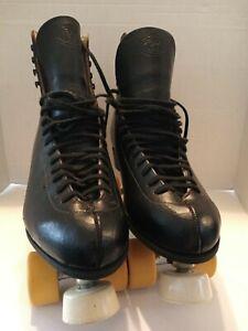 Vintage Riedell Roller Skates Mens size 9  Sure Grip Classic