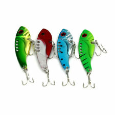 New Fishing Lure Metal VIB Hard Walleye Bait Fishing Saltwater Tackle CY