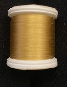 YLI 100% Silk Thread 200 Meters, Gold, #215