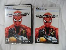 Spider-Man Web of Shadows PC (Case and Instructions Only) (No Game) PLEASE READ