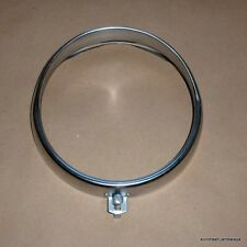 Ducati 250 Bevel Single 150mm Headlamp Rim NOS-ish Aprilia headlight bezel
