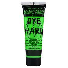 Manic Panic Dye Hard Temporary Hair Color Styling Gel 50 mL Electric Lizard