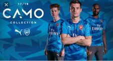 PUMA men's $60 Arsenal Soccer Stadium Jersey EPL Blue Danube 752188-02 sz XL #6