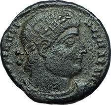 CONSTANTINE I the GREAT 330AD Authentic Ancient Roman Coin w SOLDIERS i66226
