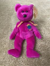 2000 Millennium TY Beanie Baby Bear - Pristine Condition
