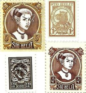 Discworld Stamp Sto Helit 2006 Susan 2008 Boar 2014 Sprout Mort Hogfather