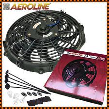 """14 """" 120w Aeroline Radiatore Elettrico/Intercooler 12v Ventola di Raffreddamento"""