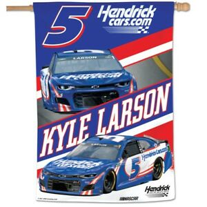 Kyle Larson Flag 2021 Hendrick Cars Banner NASCAR Sprint Cup Series