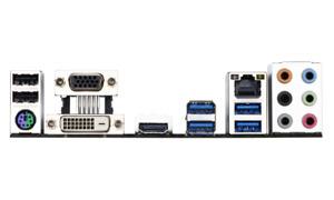 I/O Shield Backplate GIGABYTE GA-B250M-Gaming 3 Motherboard Backplate New