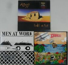 Vinyl LP Bundle Sammlung 3x Men At Work/Midnight Oil: Business..., Cargo, Diesel