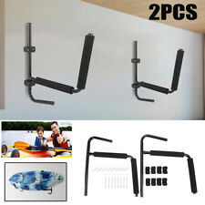 2pcs Heavy Duty Kayak Wall Rack Sit on Top Storing Storage Canoe Fixings Mount