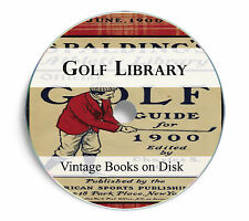 Golf Golfing Vintage Books DVD Old History Putter Club Bag Iron Tee Learn 237