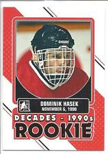 DOMINIK HASEK 2013-14 ITG DECADES 1990s Rookie #DR-07 (BUY 10=FREE S/H)