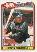 1990 Topps Hills Hit Men Baseball #5 Kevin Mitchell San Francisco Giants
