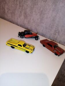Vintage hot wheels Vehicles Cars Diecast Toys used Rare Mattel 1980 bugatti chev