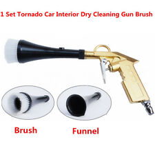 High Quality Tornado Car Interior Dry Cleaning Gun Brush for Carpet Engine Wheel
