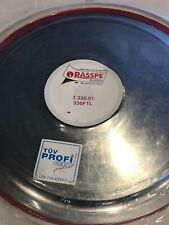 New Genuine Rasspe Slicer Blade 350Mm 4-Hole for Slicing Machine made in Italy