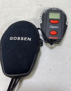 Gossen Digisix Light Meter for Photography. Compact Digital Meter