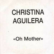 CD single Christina AGUILERA	Oh Mother Promo 1-track CARD SLEEVE