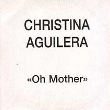 CD single Christina AGUILERAOh Mother Promo 1-track CARD SLEEVE