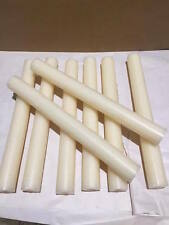 4 x Ivory Dinner Candle