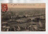 PARÍS - Vista desde torres de Notre Dame (J1945)
