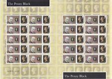 GB 2015 - Customised Penny Black Smilers Sheet - CS-055