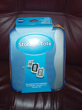Vtech STORAGE TOTE FOR V.READER,INNOTAB2 OR 2S BLUE/GRAY/ORANGE BRAND NEW