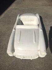 56 57 Corvette hot rod stroller pedal car fibreglass body rat rod
