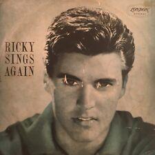 "RICKY NELSON - Ricky Sings Again 12"" Vinyl LP Record - HAA 7537Australia 1959"