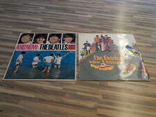 2 LP´s The Beatles Yellow Submarine And Now: The Beatles 1ST Pressings SMO Rare