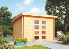 Wolff Pultdach Gartenhaus Gent A Holz 332x274cm 28mm Pultdach Gerätehaus Laube