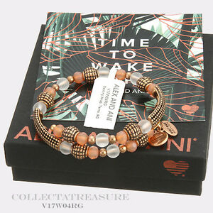 Authentic Alex and Ani Destiny, Terra Rafaelian Gold Bangle Wrap