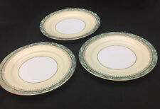 Noritake Gold Bamboo Salad Plates (set of 3) - vintage Japanese Fine China