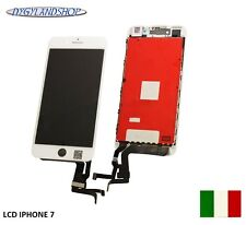 TOUCH SCREEN+LCD DISPLAY RETINA + FRAME PER APPLE IPHONE 7   BIANCO