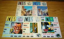 Aces Magazine #1-5 VF complete series - jazz age genre fiction - pulp stories